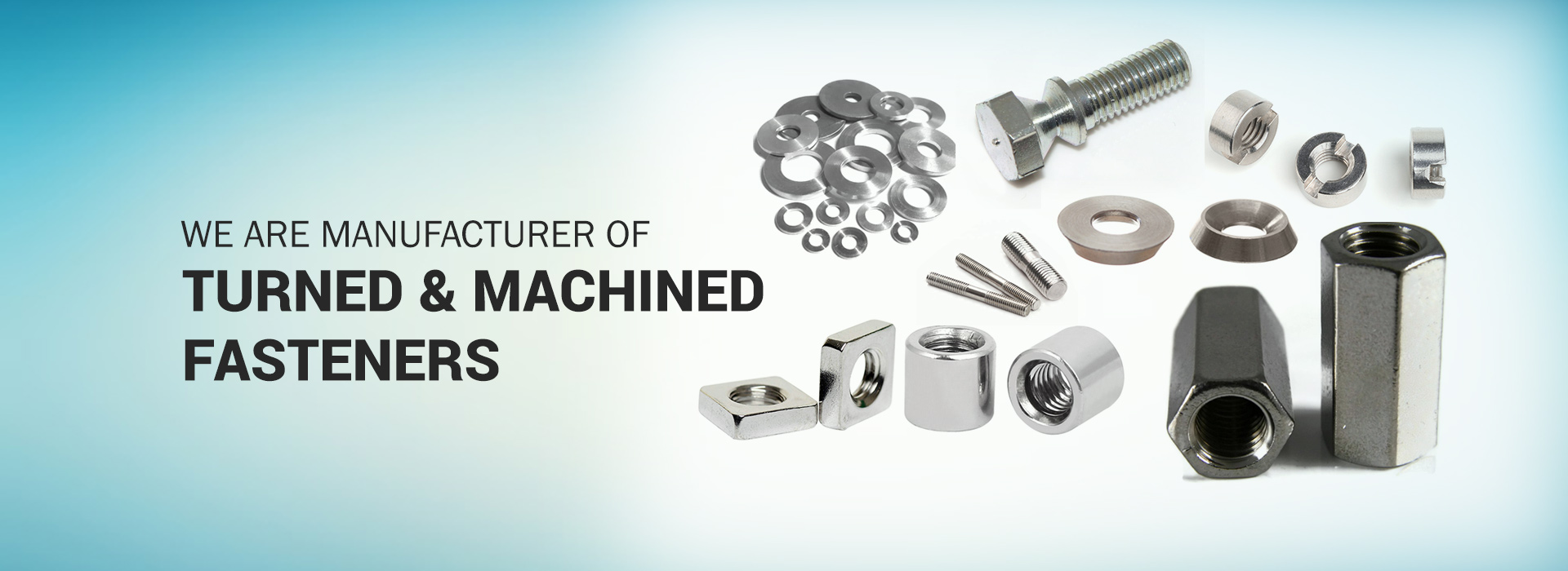 We are Manufacturer of Turned & Machined Fasterers, Stainless Steel Bolt Manufacturer